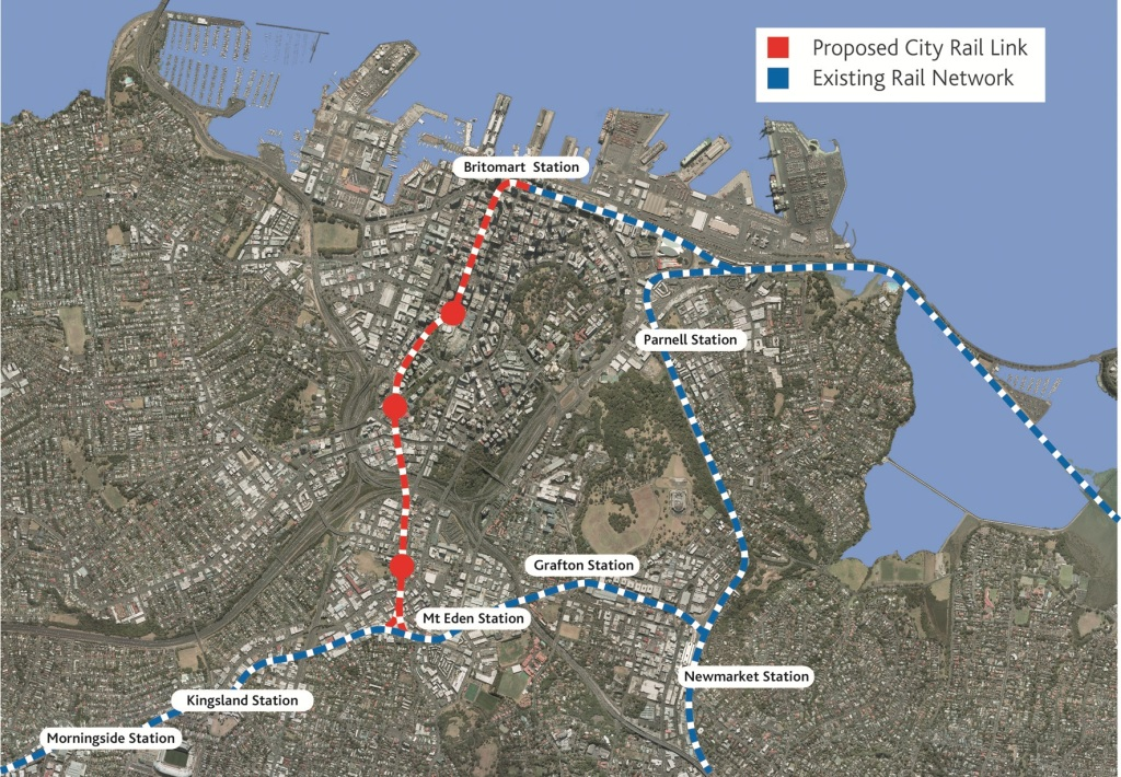The Old City Rail Link Proposal prior to August 1's update