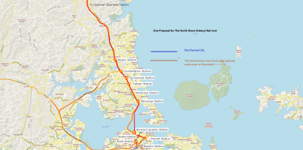 Approximation for North Shore Line