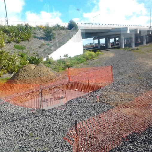 Slowly getting there with the Manukau South Rail Link