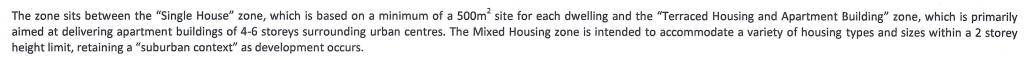 Mixed Housing Definition