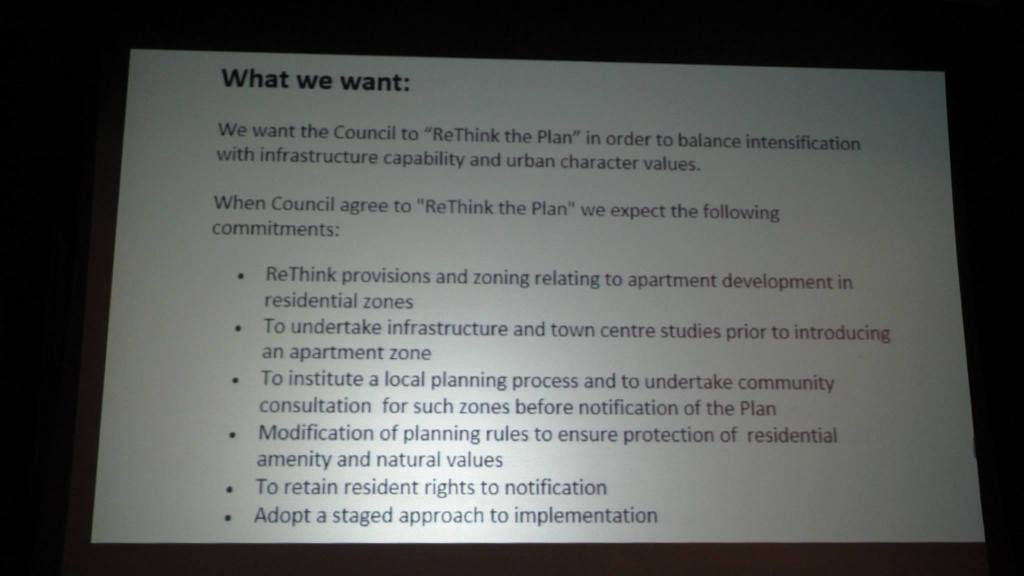 What this 2040 want with the Unitary Plan