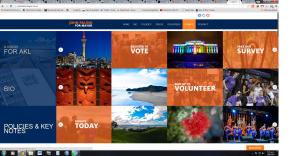 Palinos webpage front
