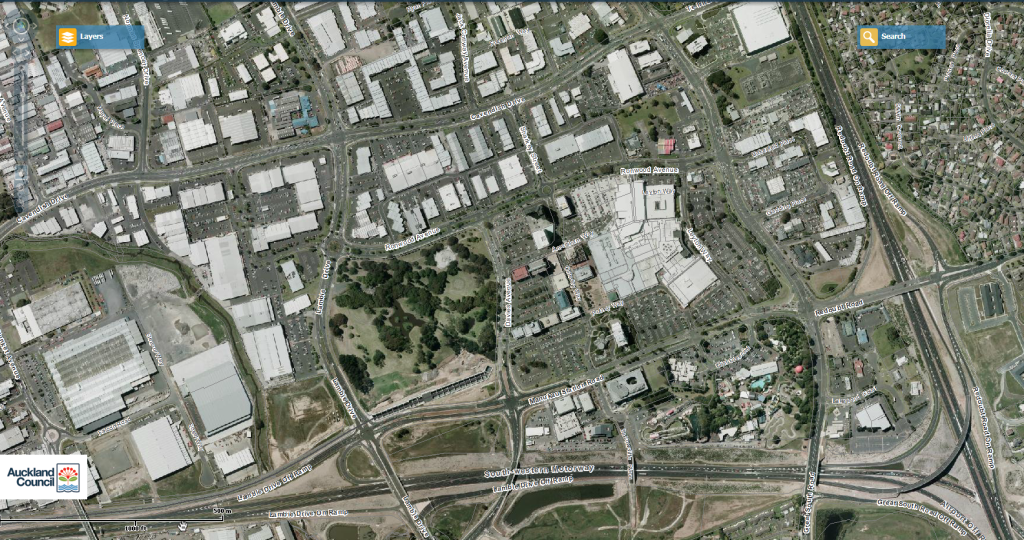 Manukau City Centre Area