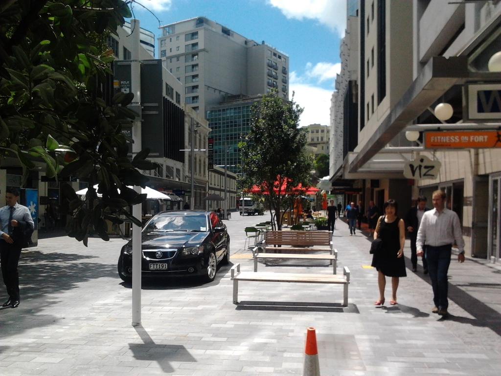 Fort Street Shared Space recently completed Stage II