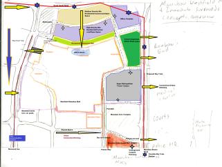 Manukau Mall Redevelopment Context MK1