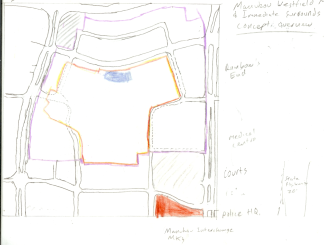 Manukau Mall Redevelopment Context - tracing