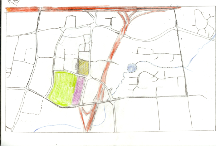 Manukau Redevelopment Context - tracing paper