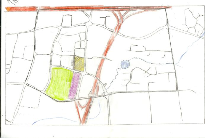 Manukau Redevelopment Context - tracing paper