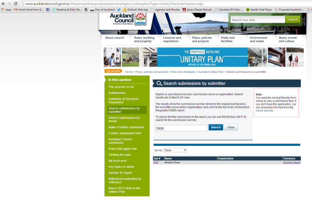 http://www.aucklandcouncil.govt.nz/EN/planspoliciesprojects/plansstrategies/unitaryplan/Pages/UnitaryPlanSubmissions.aspx