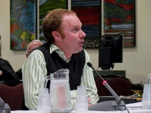 Speaking at Council