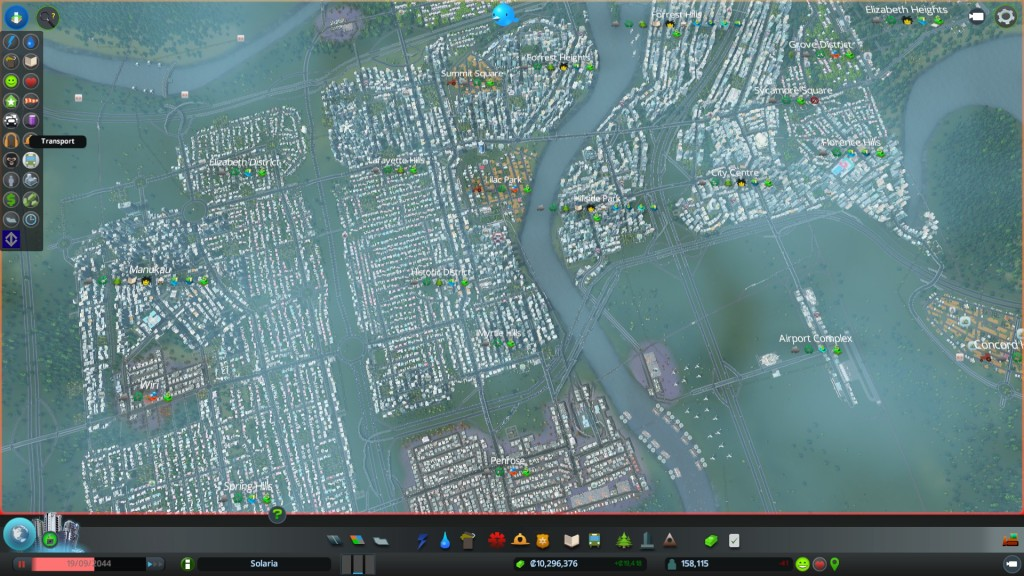Solaria on Cities Skylines
