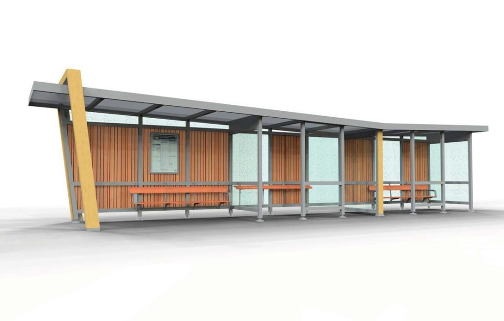 Bus shelter picked by Auckland Transport Source: Auckland Transport