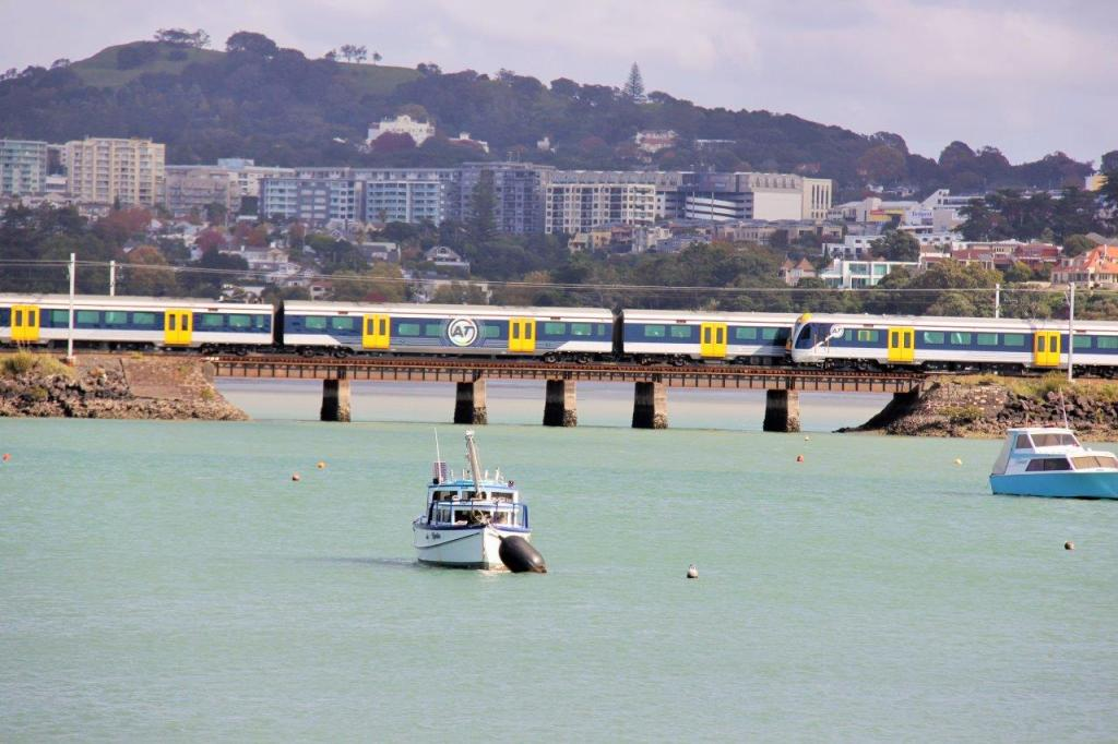 trains at orakei Source: Auckland Transport
