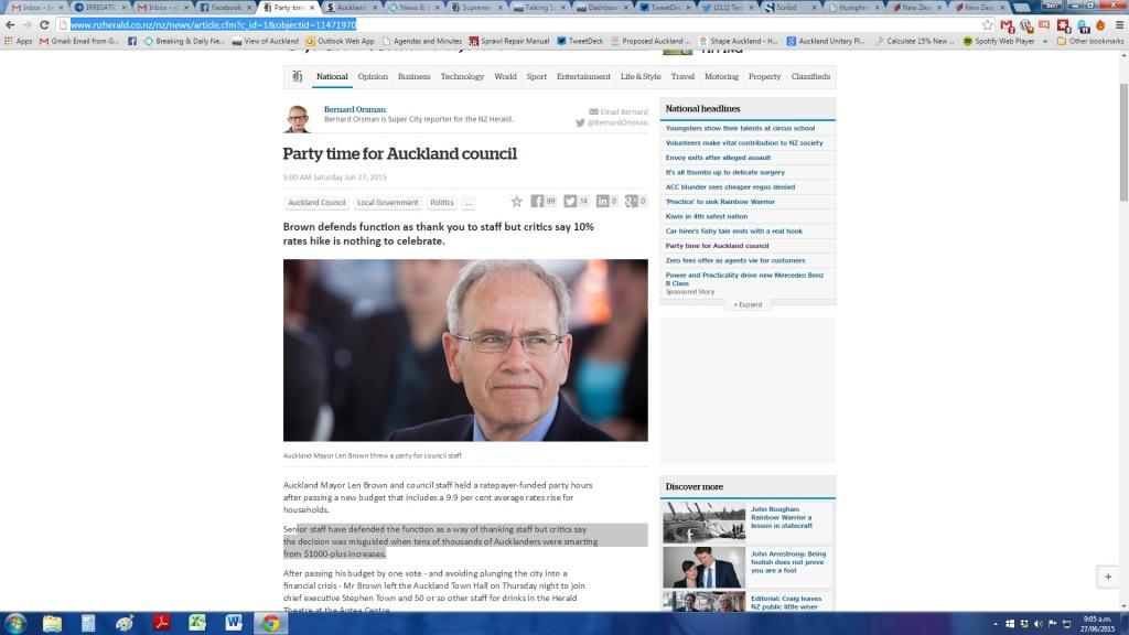 Press Council Complaint