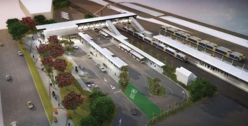 Otahuhu Transport Interchange Source: Auckland Transport