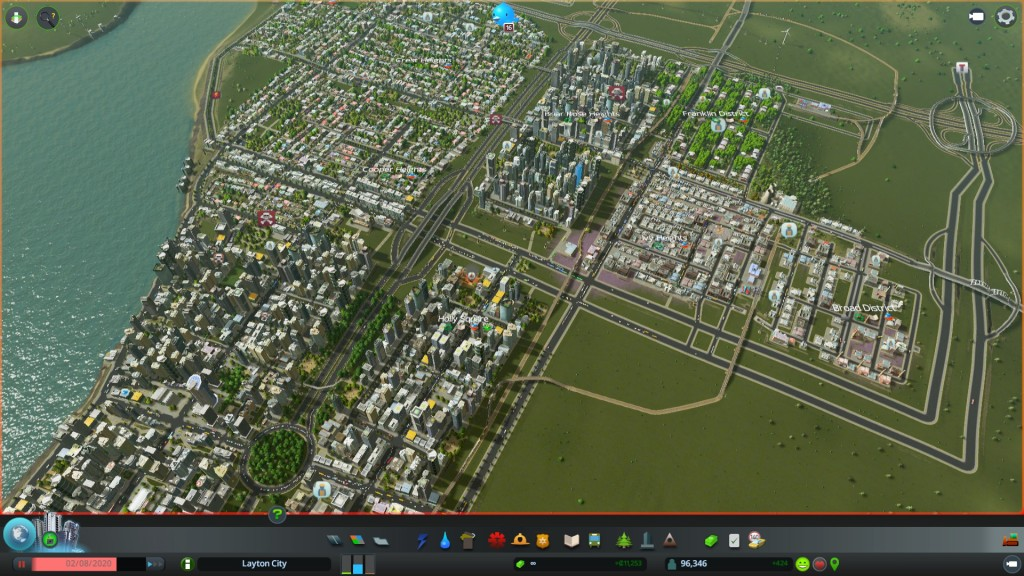 Layton City Freight and Inter City rail was important in Skylines It will be important to the Upper North Island as well