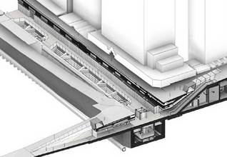Aotea Station concept Source: Auckland Transport