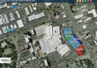 Manukau Mall East Extensions Overview MK2