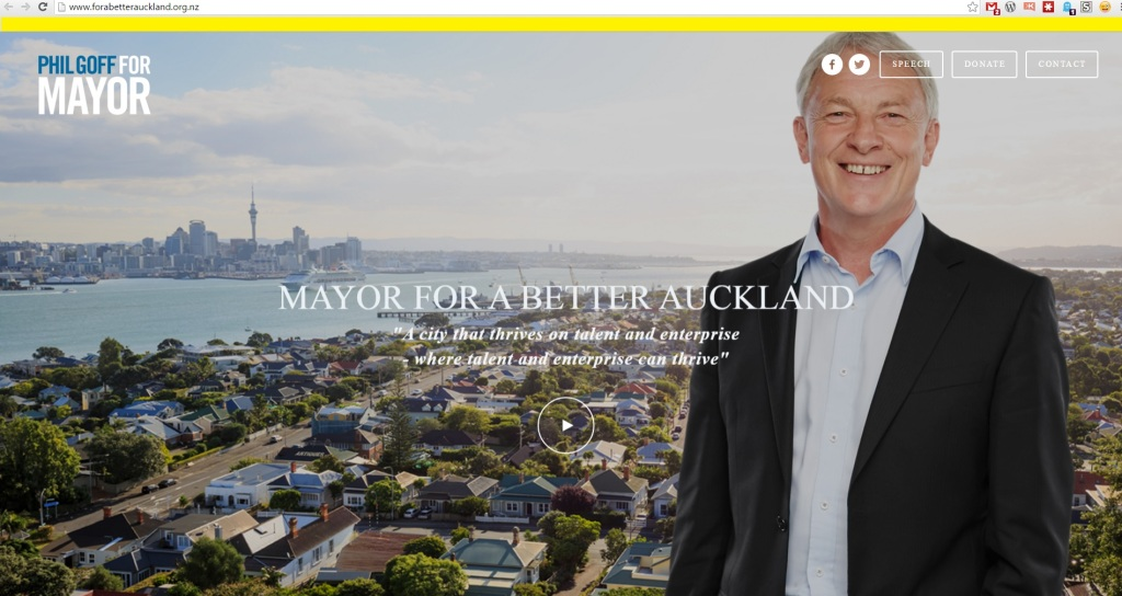 Goff mayoral page http://www.forabetterauckland.org.nz/