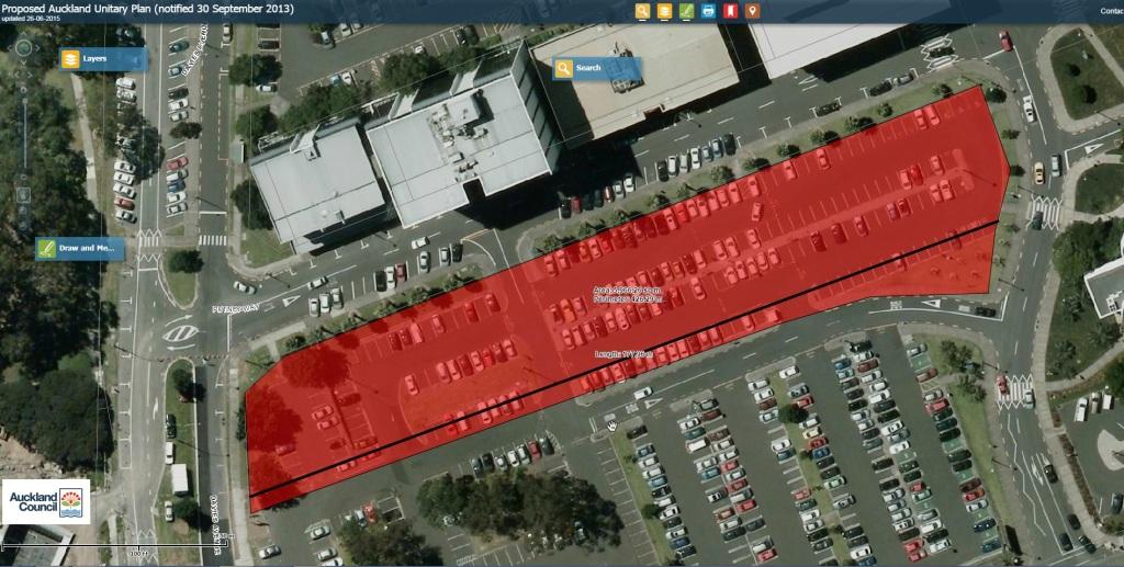 Manukau Bus Station footprint