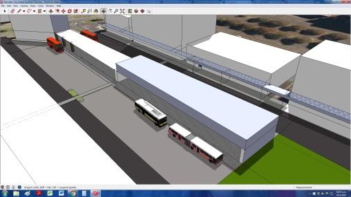 Manukau Interchange BR Version MK 5 MBTI 1 under way