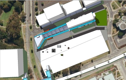 Manukau Interchange BR Version MK 5 MBTI 16 under way Kiosks are the property of their respective owners
