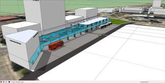 Manukau Interchange BR Version MK 5 MBTI 6 under way
