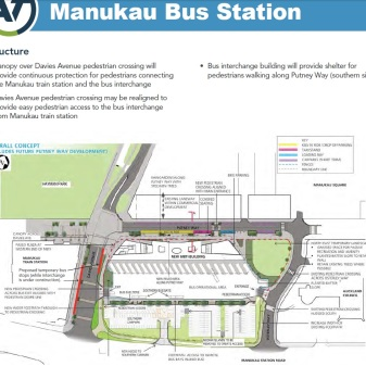 Manukau Interchange MK4 Source of information: Auckland Transport