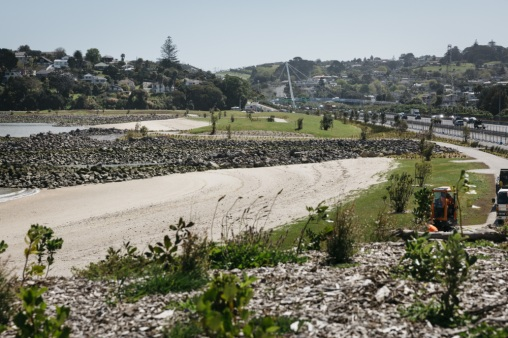 Onehunga foreshore - overview Source: Auckland Council
