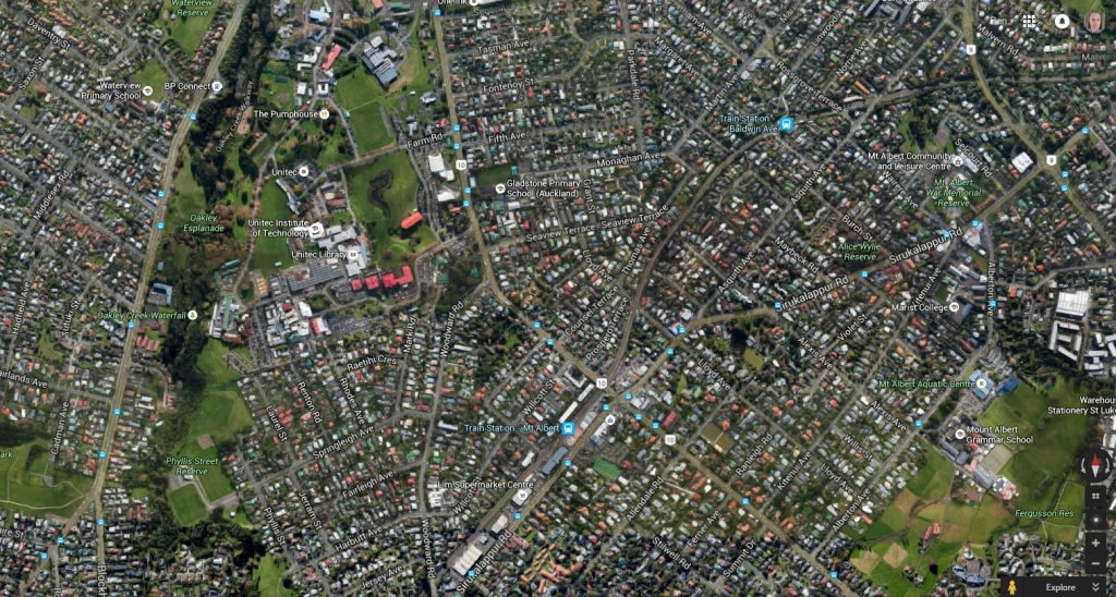 Unitec and surround area Source: Google Maps
