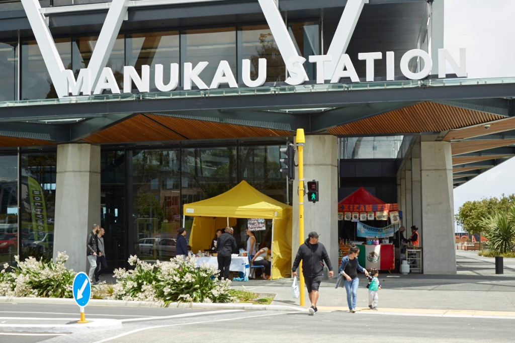 Manukau Station and MIT Source: Panuku Development Auckland