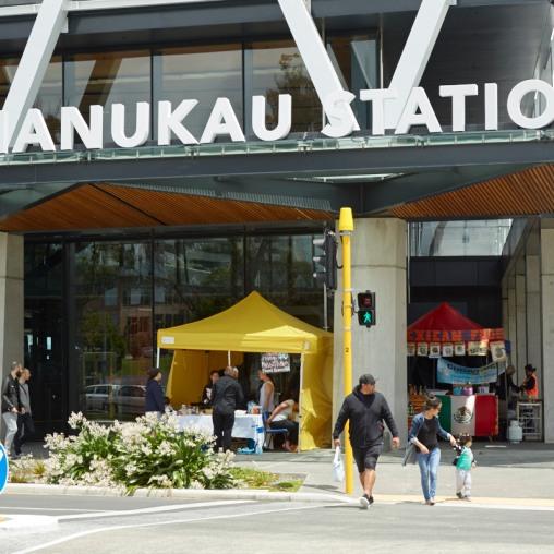 Manukau Station and MIT Source: Panuku Development Auckland