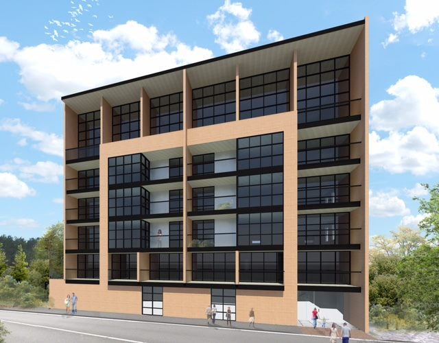 Proposed apartments Source: http://www.trademe.co.nz/property/residential-property-for-sale/auction-994423981.htm