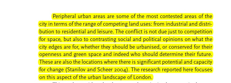 Suburban, urban and rural conflict https://www.ucl.ac.uk/ucl-press/browse-books/suburban-urbanities