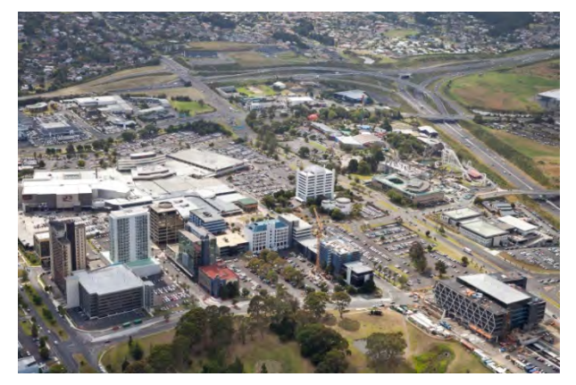 Manukau City Centre Source: Auckland Plan Implementation Update 2015