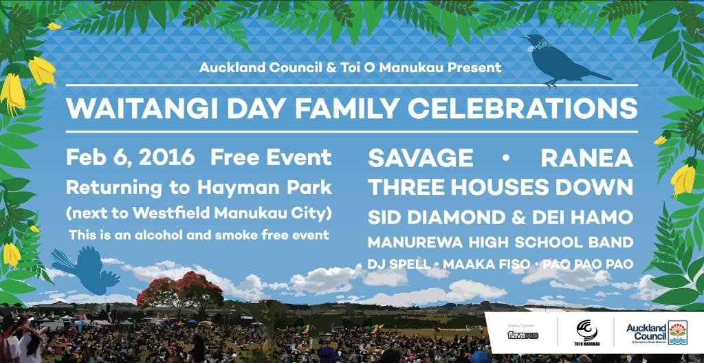 Waitangi day in Manukau http://ourauckland.aucklandcouncil.govt.nz/events/