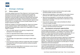 Policy Context of Airport Rail Source: https://www.scribd.com/doc/297825474/Airport-Rail-Jan-16-OIA-Response-from-Auckland-Transport