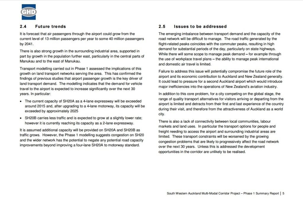 Future Trends and Issues Source: https://www.scribd.com/doc/297825474/Airport-Rail-Jan-16-OIA-Response-from-Auckland-Transport