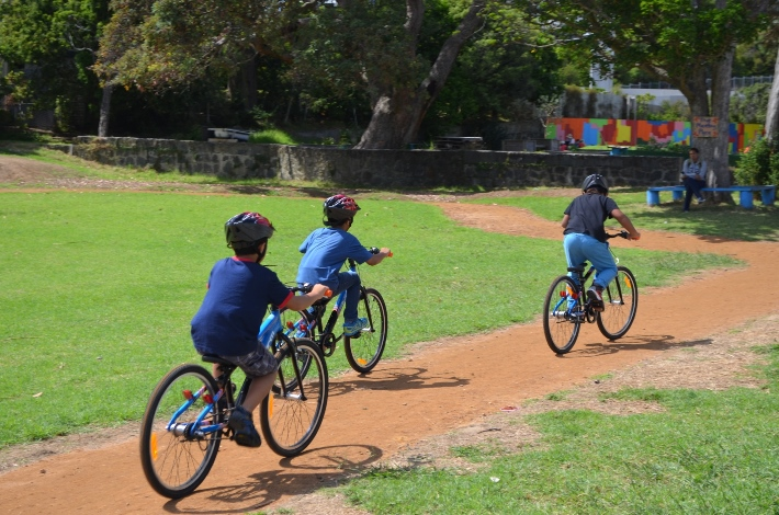 Bikes in Schools at Freemans Bay Primary Source: Auckland Council