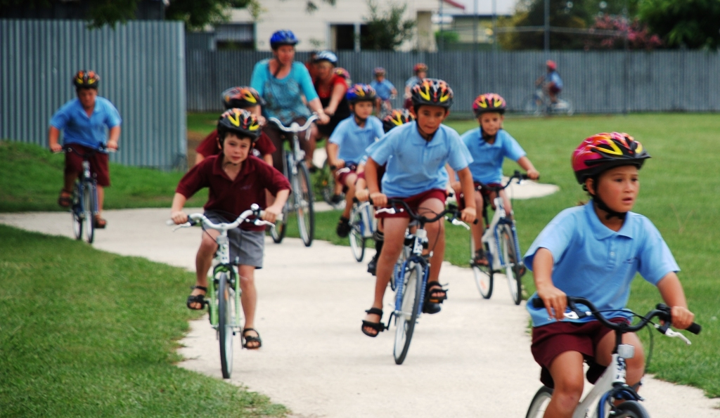 Bikes in Schools - St Marys Source: Auckland Council