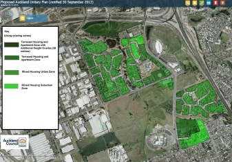 Manukau Unitary Plan ammended res zones evidence 2