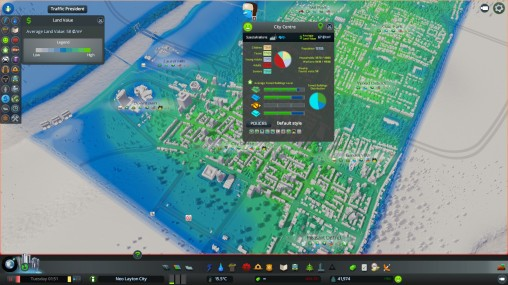 City Centre Land Value