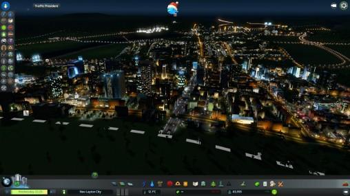 Night in Neo Layton City