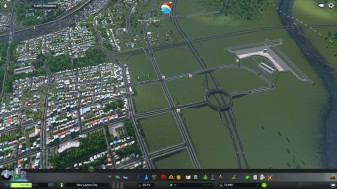The international Airport built