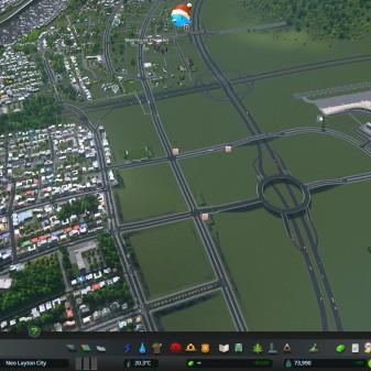 The international Airport built