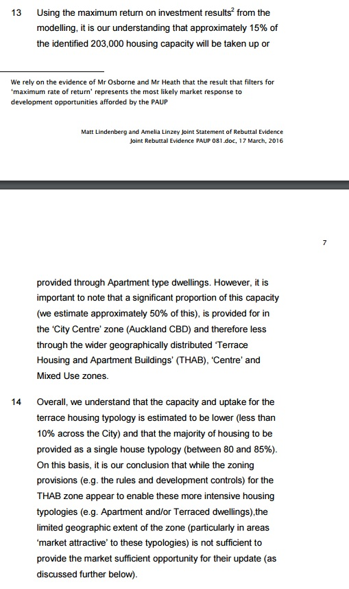 Housing NZ PAUP capacity issues Source; Housing New Zealand to the IHP
