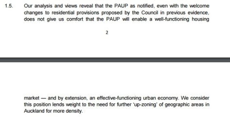 MBIE wants more upzoning Source: MBIE