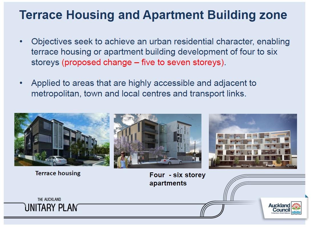 takapuna apartment development example of unitary plan working