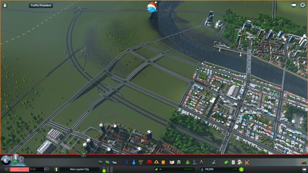 Roads and tram lines down, now for the lane ways, zones and parks
