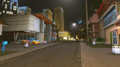 Lane ways in low density areas